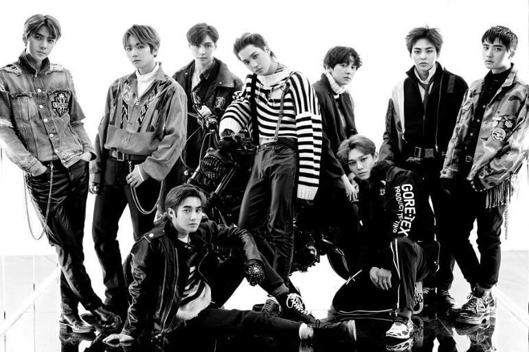 Suho dos EXO alicia Novo Álbum do grupo para Próximo Ano