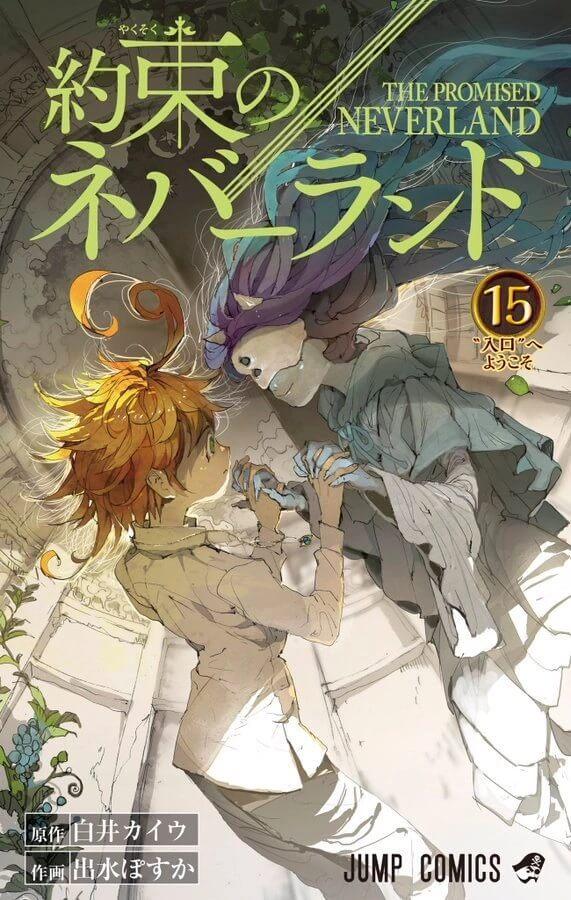 Capa Manga Yakusoku no Neverland Volume 15 Revelada