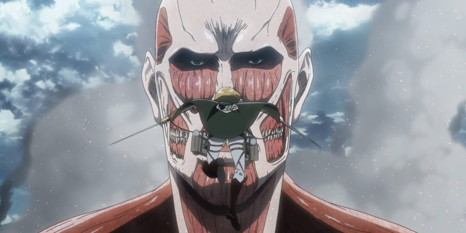 Attack on Titan 3 - Armin vs Colossus Titan