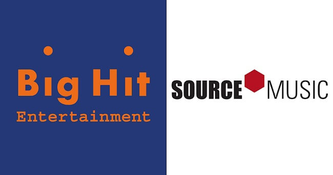 Big Hit Entertainment Une-se à empresa Source Music