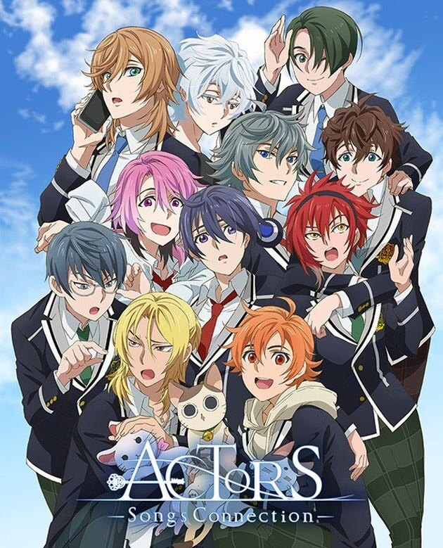 ACTORS: Songs Connection - Anime revela Estreia