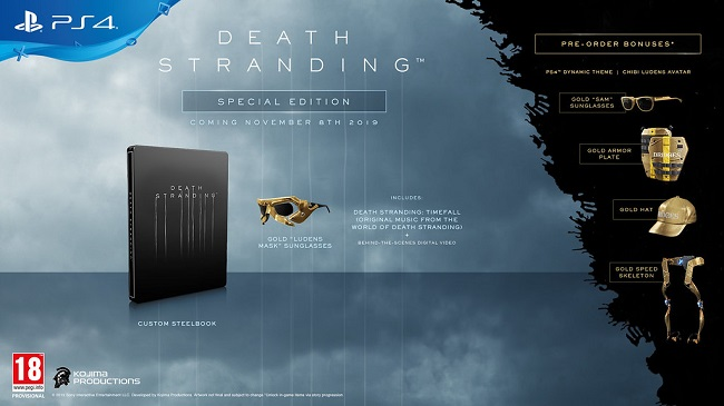 Death Stranding - Vídeos antevêem Gameplay e Personagens