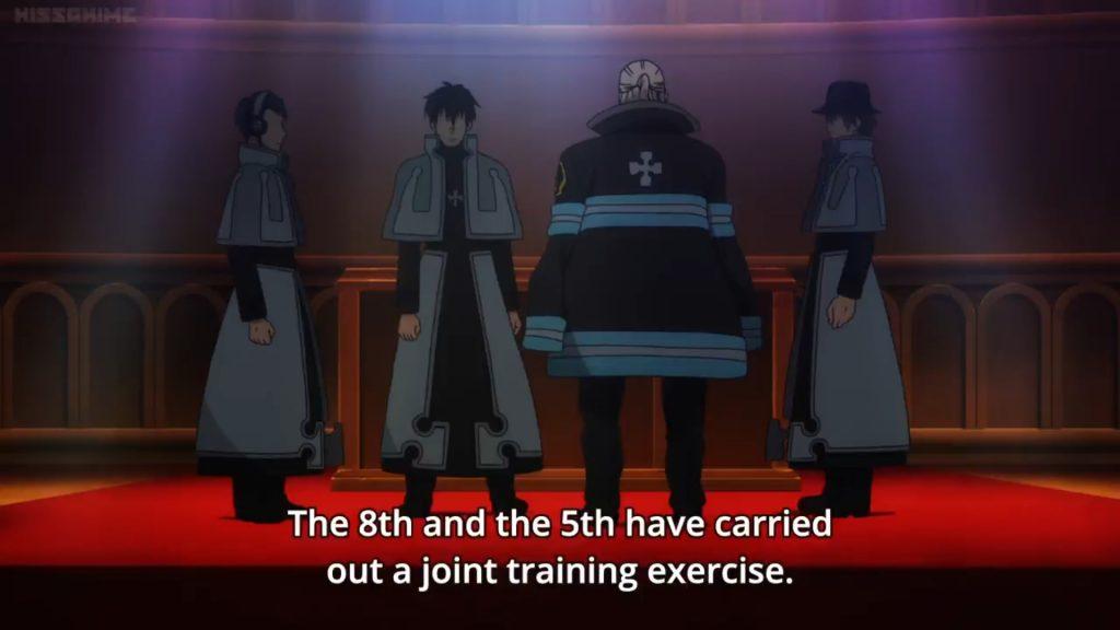 Enen no Shouboutai Episódio 07 – arc do 1º esquadrão
