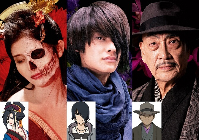 Jigoku Shoujo Live Action revela 4 Posters de Personagem
