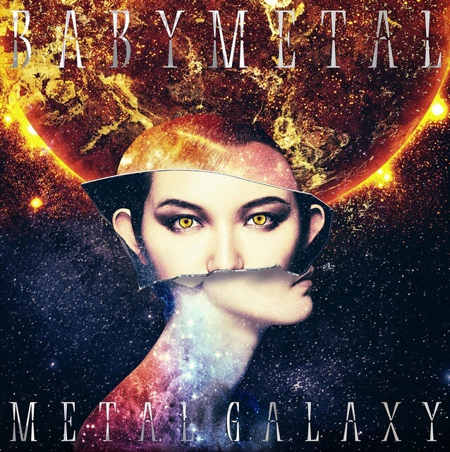 Limited Edition SUN Version Analog Size babymetal metal galaxy