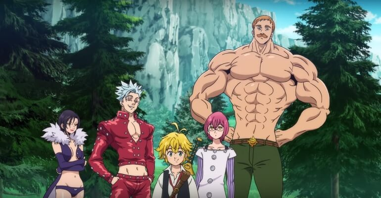 NANATSU NO TAIZAI: WRATH OF THE GODS REVELA DATA DE ESTREIA