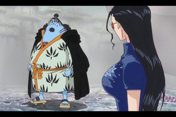One Piece Episódio 563 - Jinbei & Nico Robin