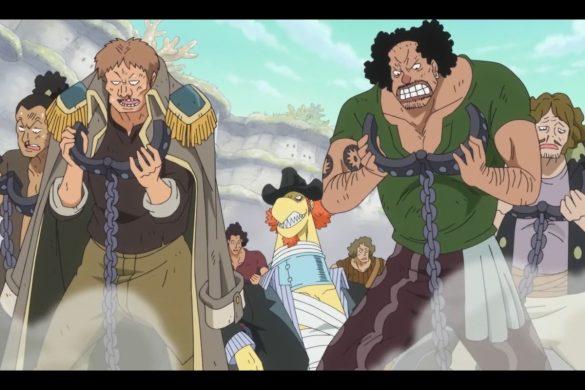 One Piece Episódio 563 - Shocking Truth! Hordy's True Identity!