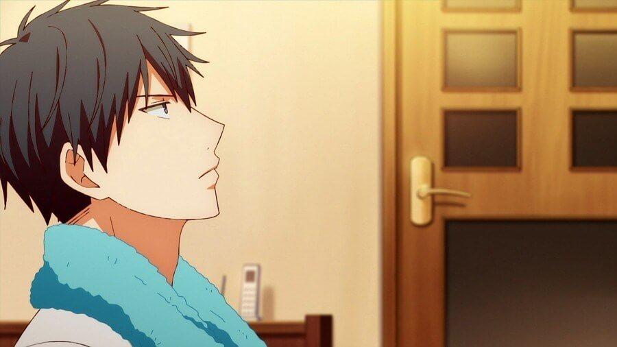 Given – O Romance BL - Ritsuka Uenoyama perdido em pensamentos