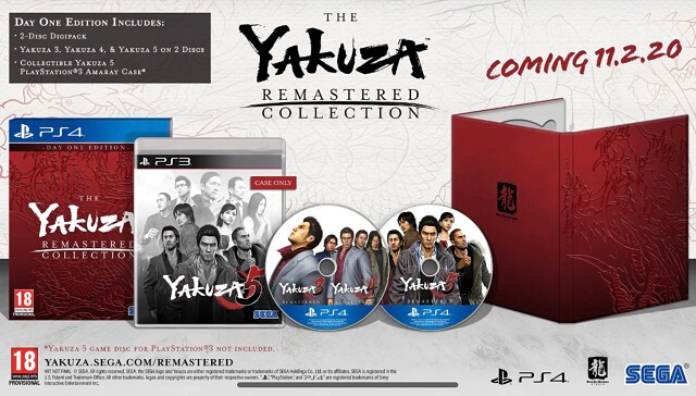 The Yakuza Remastered Collection Revelada