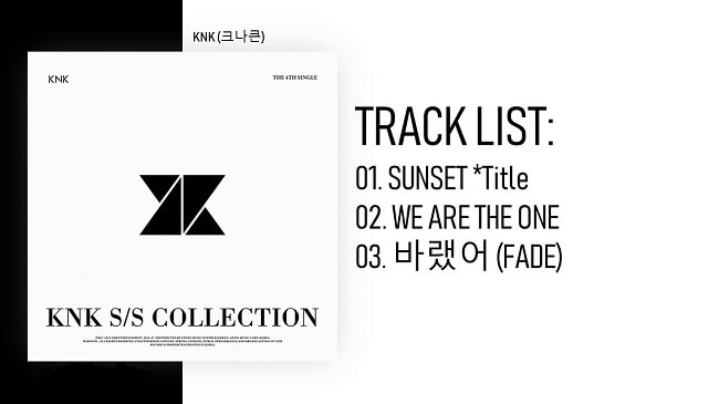 "KNK - EP ""S/S Collection"" Análise K-Pop"