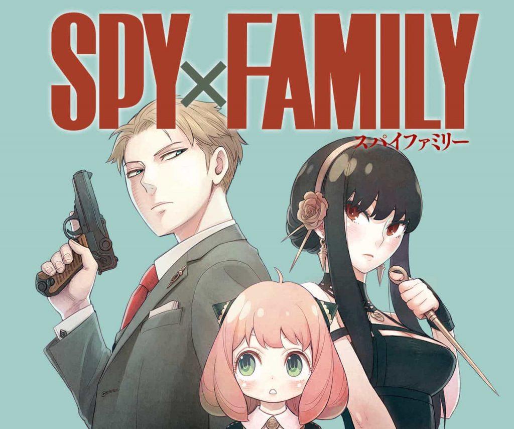 MANGA PLUS - Novos Mangas do 1º Semestre de 2019 - Spy Family