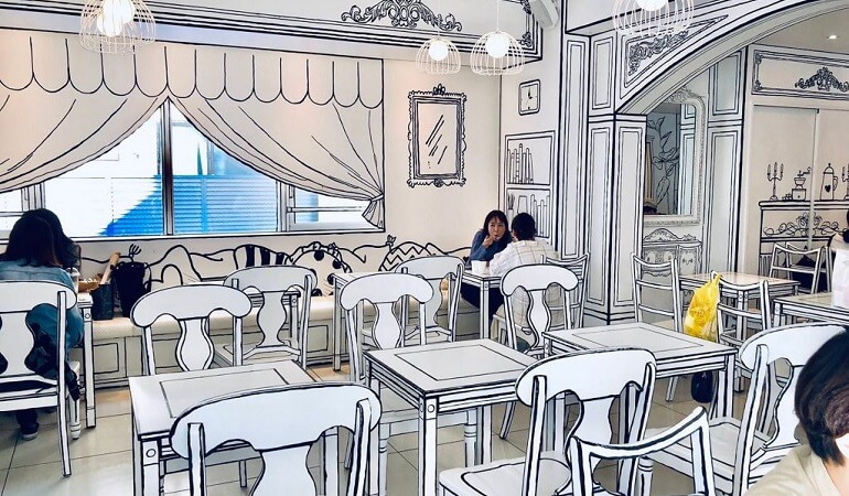 VIVE NUM MANGA NA VIDA REAL NESTE INCRÍVEL CAFÉ 2D