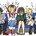 15 coisas a Não fazer nos Comboios no Japão - Pesquisa comportamentos a evitar ilustração