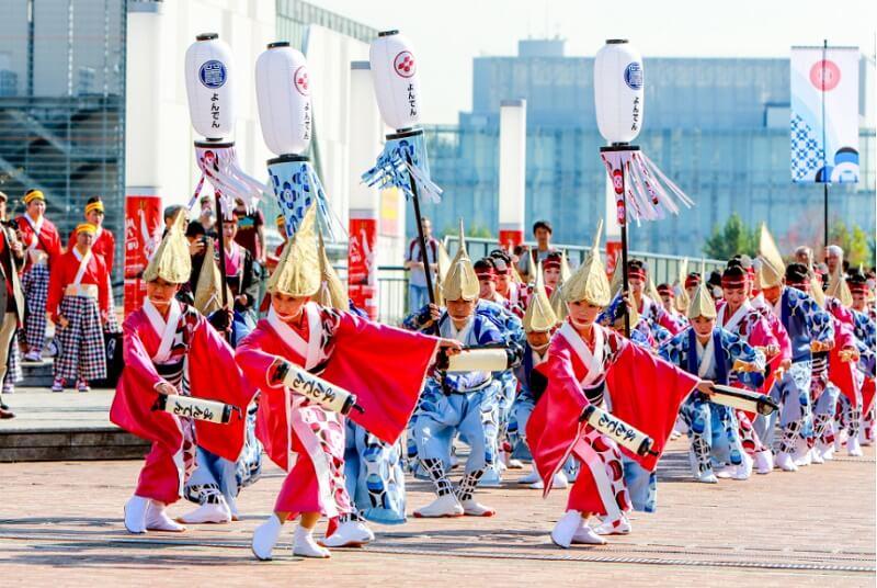 Dream Yosacoy Festival lista festivais japao outono 2019