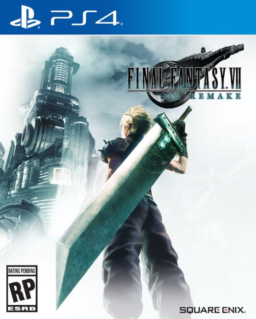 Final Fantasy VII Remake - Capa do Jogo