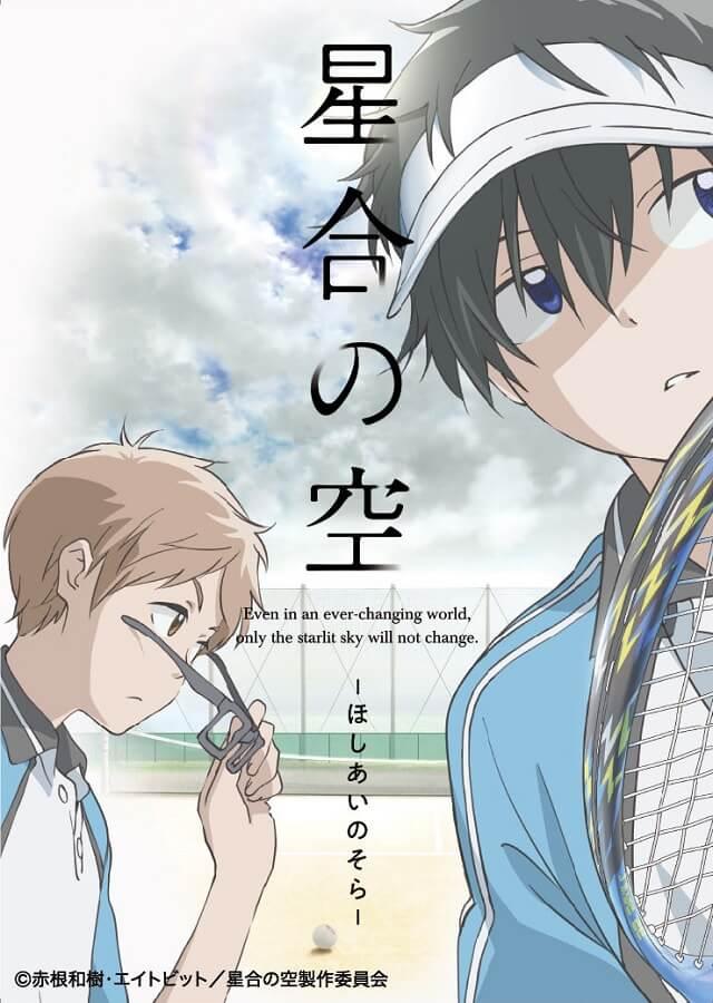 Hoshiai no Sora - Anime revela Dia de Estreia