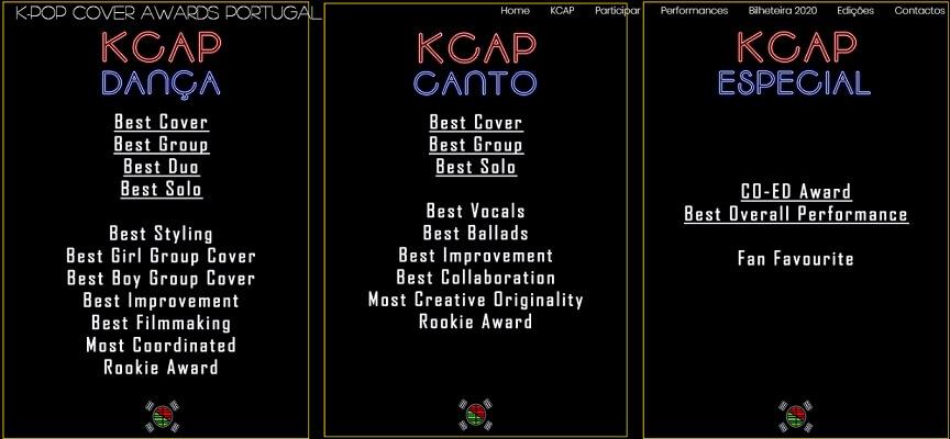 K-POP Cover Awards Portugal 2020 anunciam Data e Local categorias