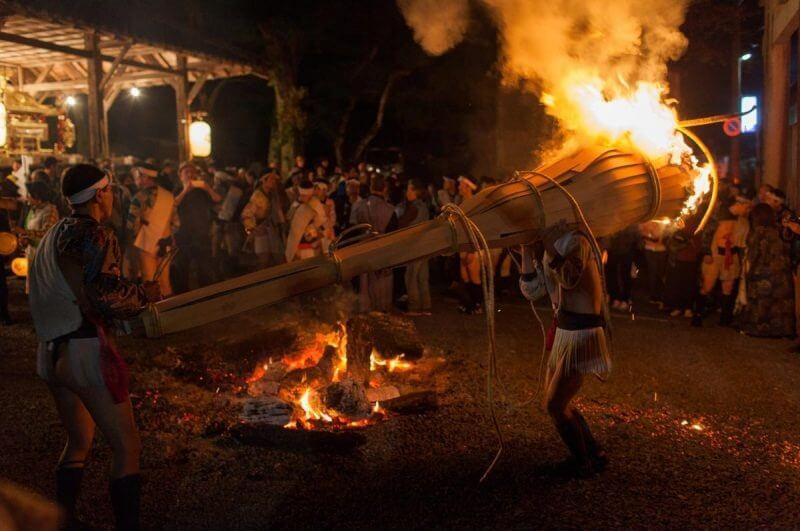 Kurama Fire Festival 2019 lista festivais japao outono 2019