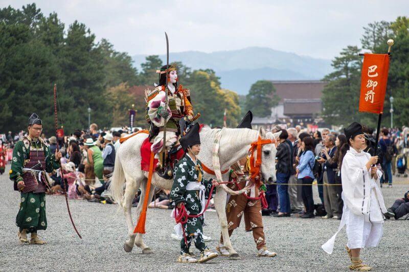 Kyoto Jidai Matsuri 2019 lista festivais japao outono 2019