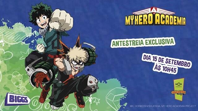 O que há de Asiático na Comic Con Portugal 2019 - My hero Academia