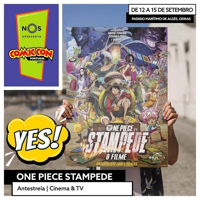O que há de Asiático na Comic Con Portugal 2019? - One Piece