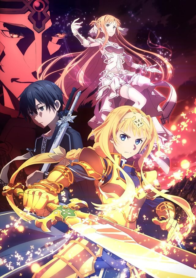Top Anime Mais Esperados Outono 2019 - SAO Alicization War of Underworld
