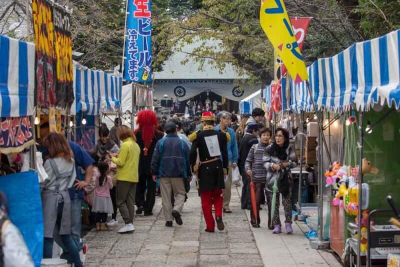 Shoin Shrine Festival 2019 lista festivais japao outono 2019