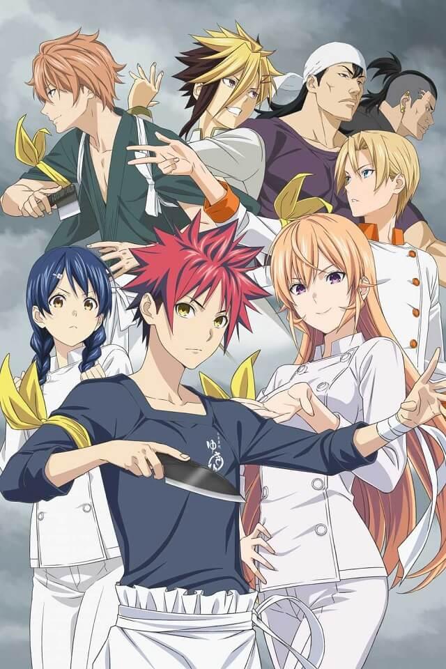 Shokugeki no Soma - Anime revela Estreia da 4ª Temporada
