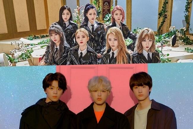 TEEN TEEN e dreamcatcher grupos que regressam em setembro 2019 kpop