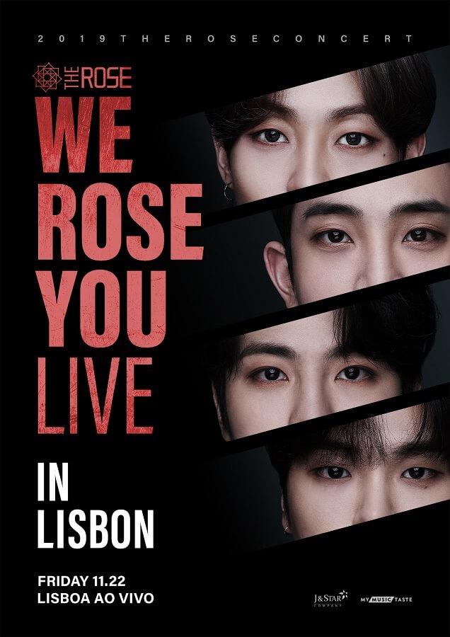 The Rose - Banda KROCK vem a Portugal em Novembro 2019 poster