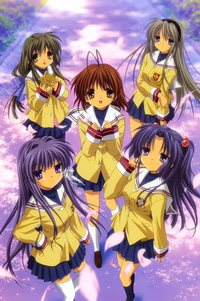 Clannad Anime Poster - Outono 2007
