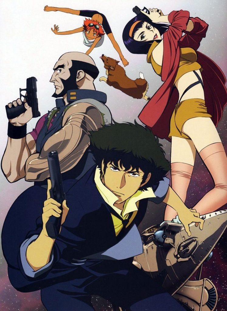 Cowboy Bebop Anime Poster 1998-1999