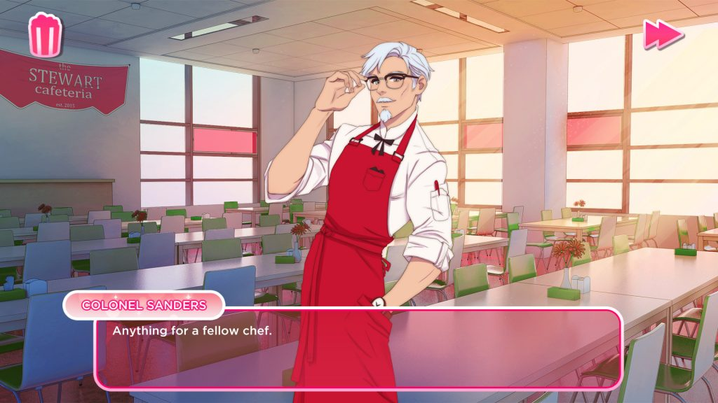 KFC lança Visual Novel baseada na Sua Mascote