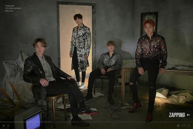 k-pop - grupos que regressam em setembro 2019 ftisland