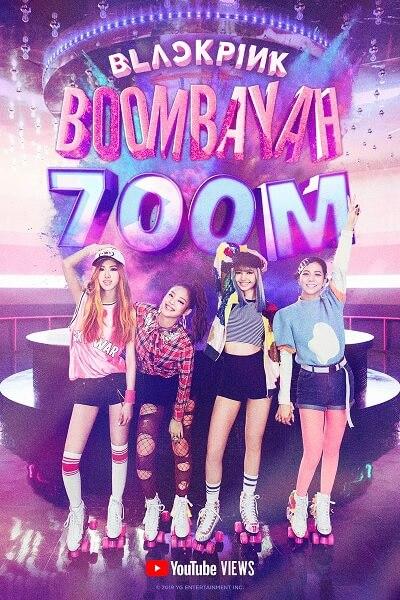 """BLACKPINK - """"Boombayah"""" torna-se o 1º MV de Estreia K-Pop a atingir 700M de visualizações"""