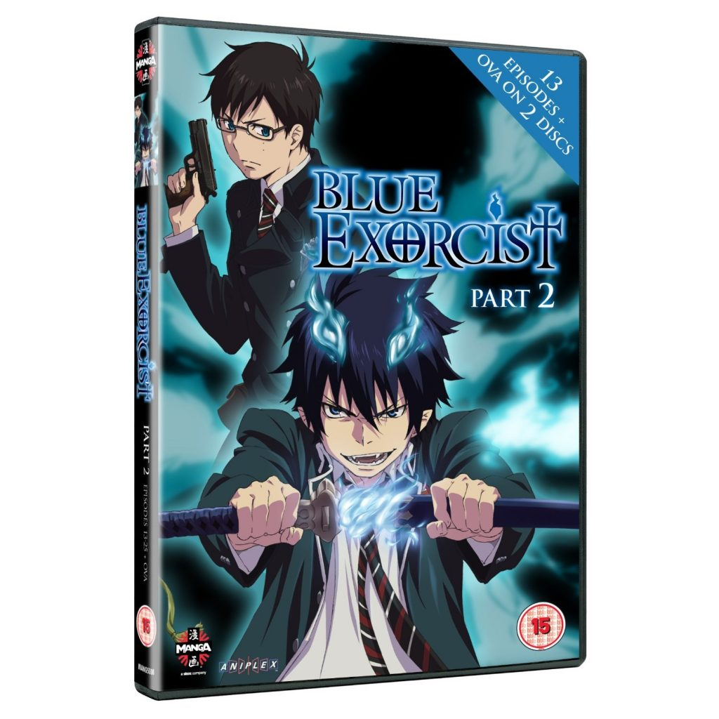 DVDs Blu-rays Anime Outubro 2012 - Blue Exorcist: Part 2