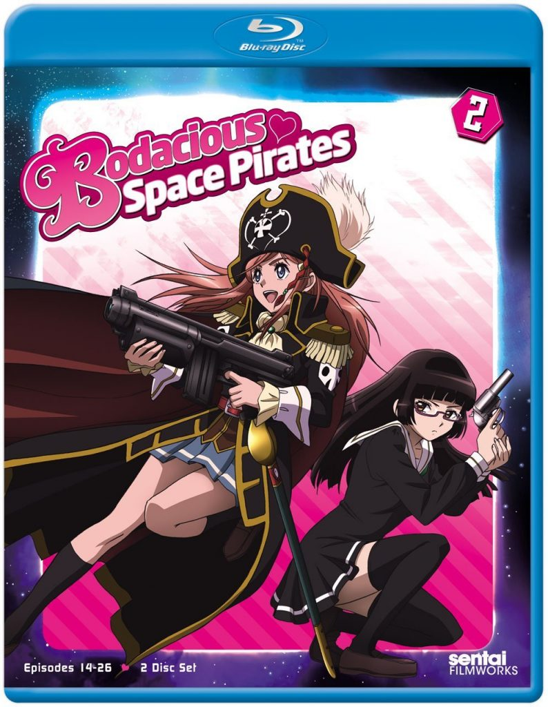 Bodacious Space Pirates – Part 2 Blu-ray