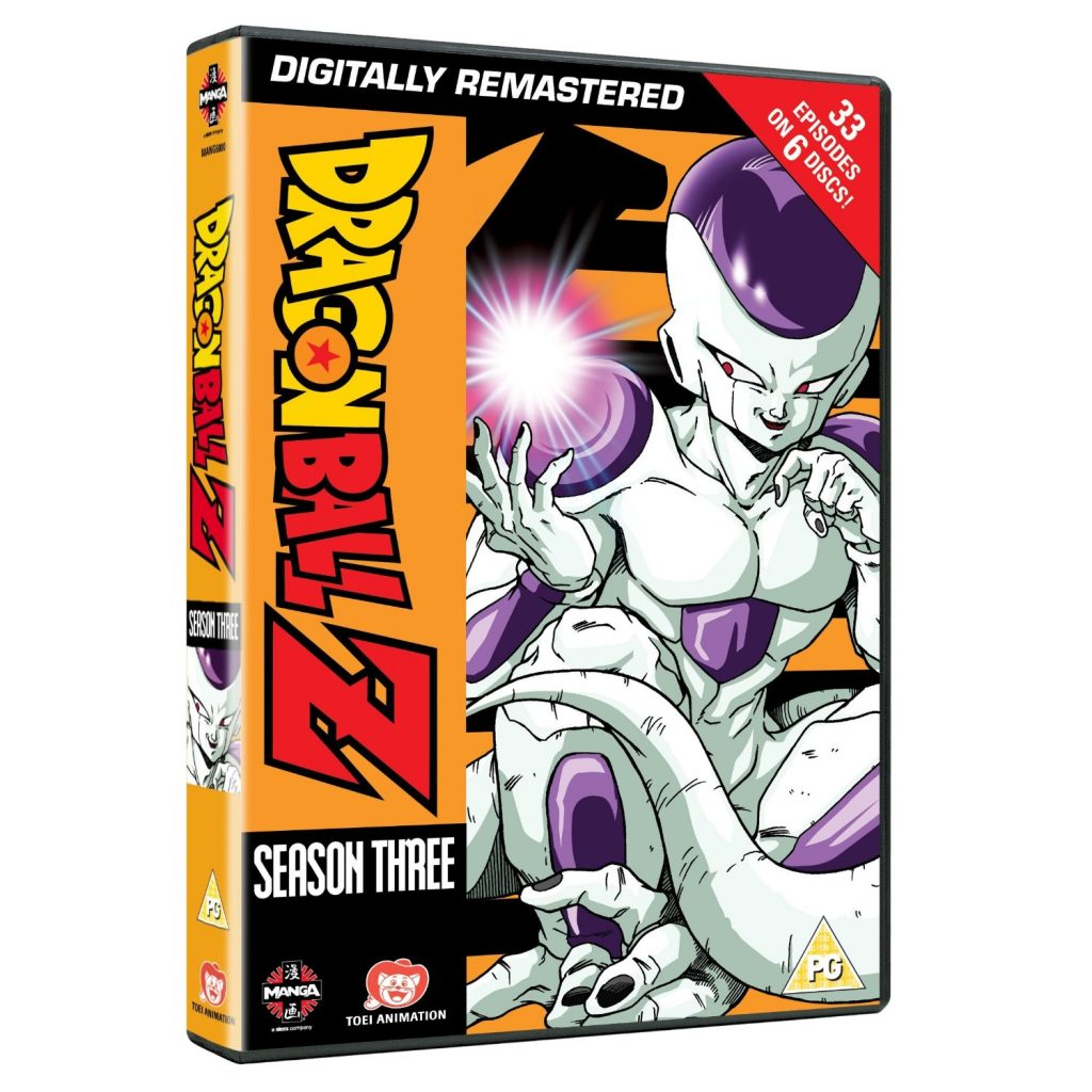 DVDs Blu-rays Anime Outubro 2012 - Dragon Ball Z Season Three