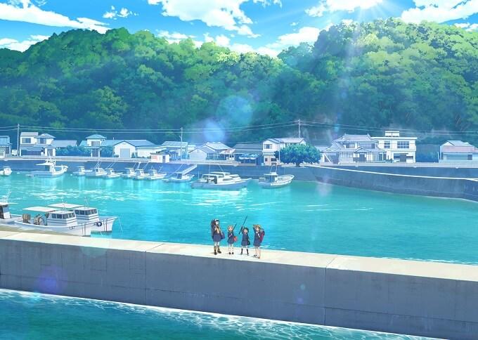 Hōkago Teibō Nisshi - Anime revela Estreia e Poster