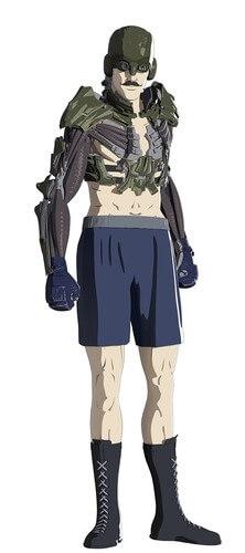 Levius – Anime de Boxe Sci-Fi revela Elenco