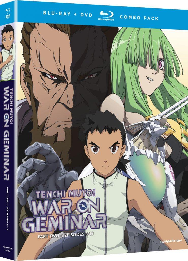 Tenchi Muyo! War on Geminar - Part 2 Blu-ray DVD Combo