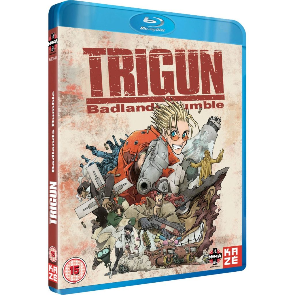 Trigun: Badlands Rumble Blu-ray