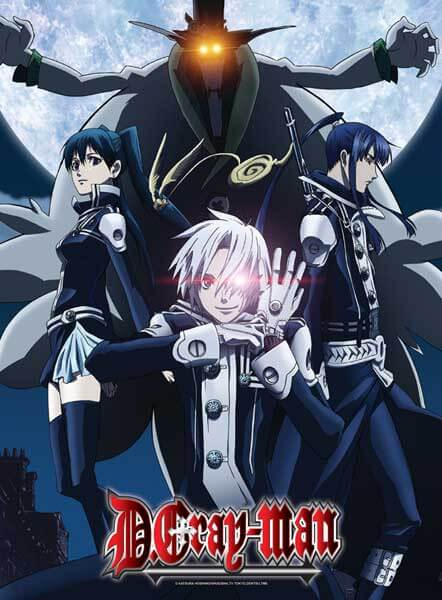 D.Gray-man Anime Poster