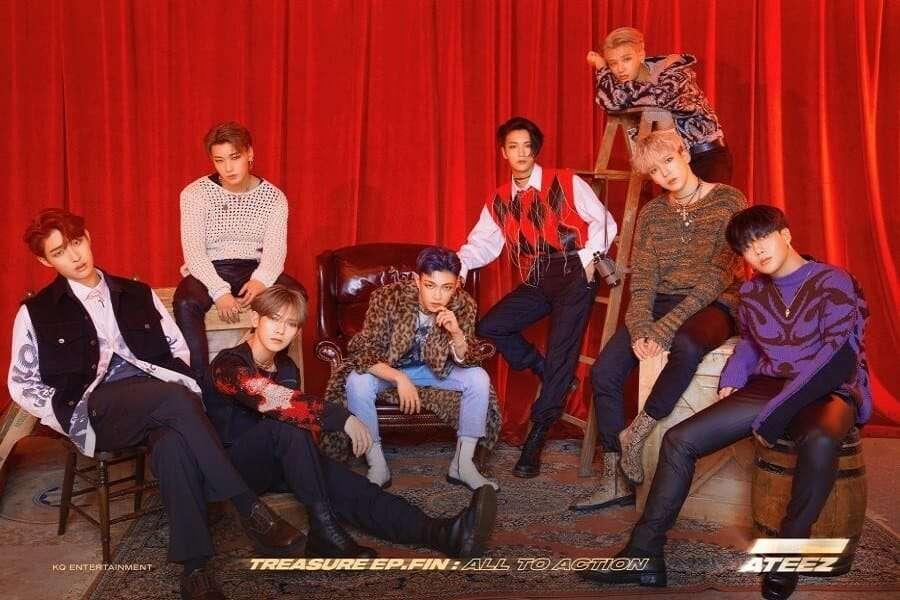 ATEEZ, AKMU e BTS na Tabela Semanal da Gaon - 6 a 12 de Outubro de 2019