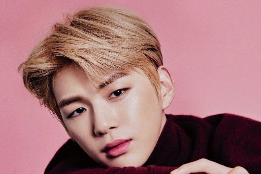 Kang Daniel revela o seu Lighstick Oficial