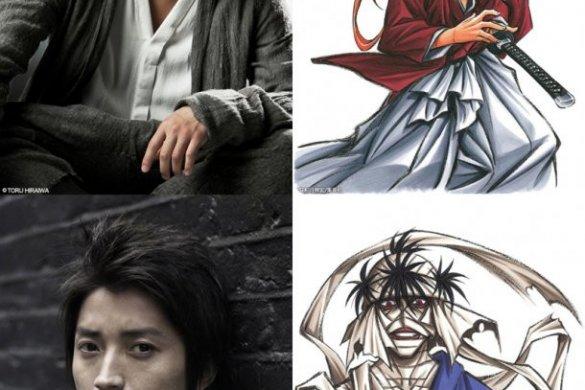 [Live-Action] Imagens e elenco da sequela de Rurouni Kenshin