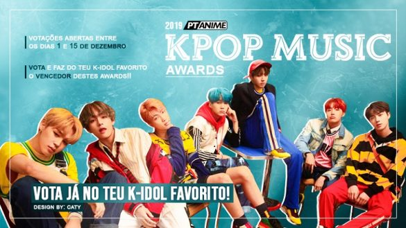 Destaque Kpop Awards ptanime 2019