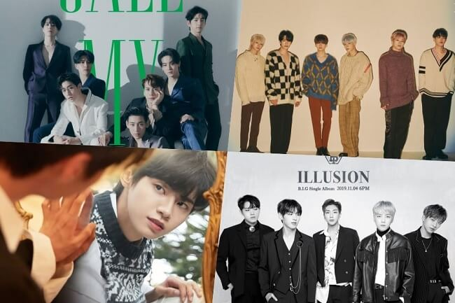 got7 victon b.i.g Lee Jin Hyuk (UP10TION) comeback novembro 2019
