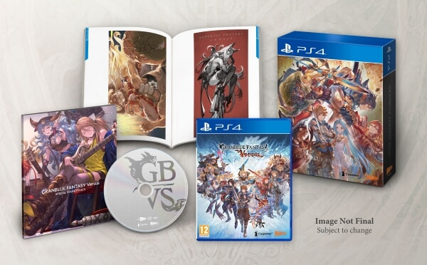 Granblue Fantasy: Versus - Trailer antevê Lancelot - Physical Premium Edition